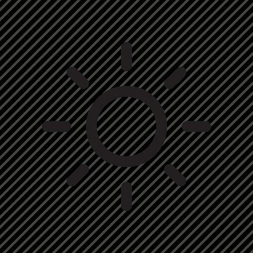 adjust, bold, brightness, edit, settings icon
