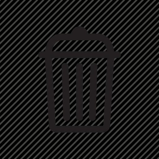 bold, delete, junk, remove, trash icon