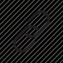 address, bold, hyperlink, link, url icon