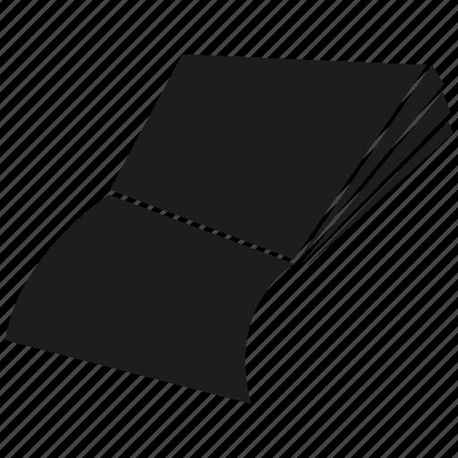 book, document, file, paper icon