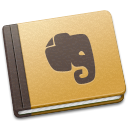 brown, evernote