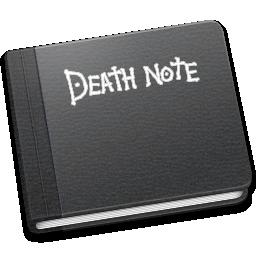 death, note icon