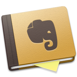 brown, evernote icon