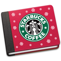 book, starbucks icon