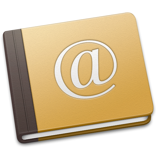 address, book, old icon
