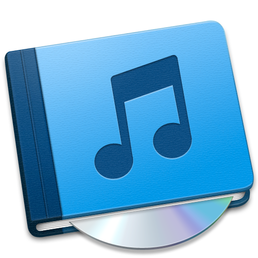 book, music icon