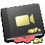 book, movie icon
