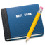 http://cdn1.iconfinder.com/data/icons/book_mac/64/Note_Book.png