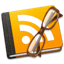 book, rss icon