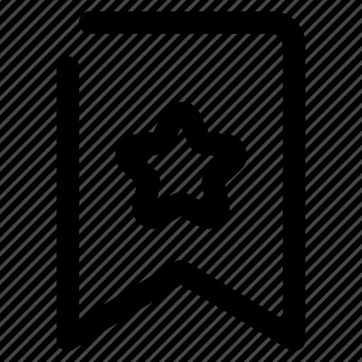 Bookmark, mark, favorite, star icon - Download on Iconfinder