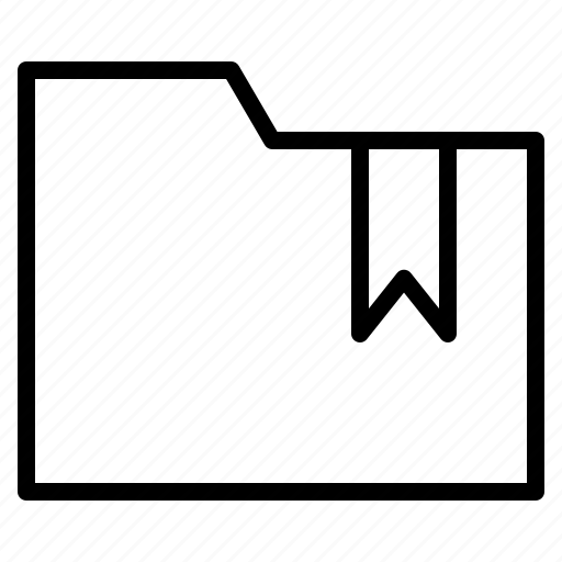 bookmark, collection, favorite, folder icon