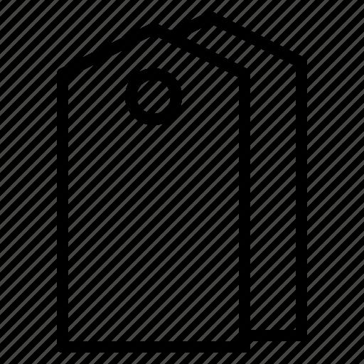 hang, price, shopping, tag icon