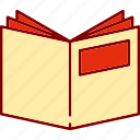 book, books, library, openbook, reading icon
