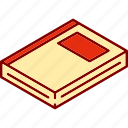book, library, literature, reading, studying icon