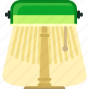 book, bookcase, lamp, library, light, reading, yumminky icon