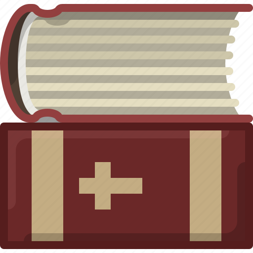 Bible, book, church, faith, holy, religion icon - Download on Iconfinder