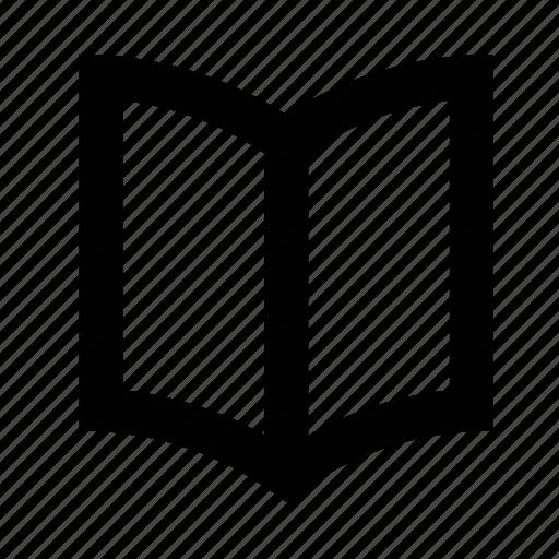 book, document, file, folder, magazine, open, page icon
