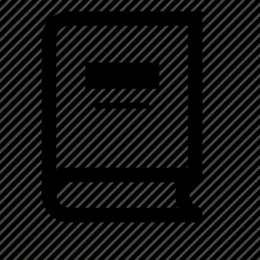 bible, book, encyclopedia icon