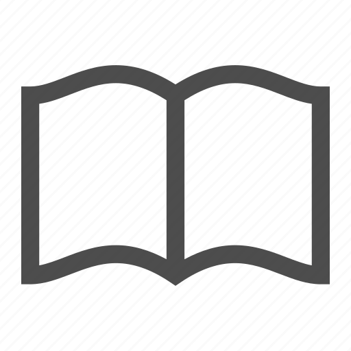 book, document, open, page, paper, sheet icon