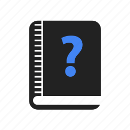 address, book, bookmark, content, favorite, question icon