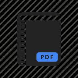 address, book, bookmark, bookmarks, document, favorite, pdf icon