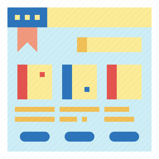 bookstore, groceries, online, shop, shopping icon