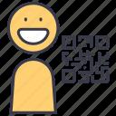 code, id, identity, member, qr, user
