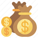 bag, business, economic, finance, investment, money, planning