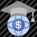 business, cash, cost, education, finance, loan, mortarboard