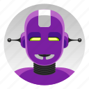 android, anime, app icon, bot, japanese hero, robot, warrior icon