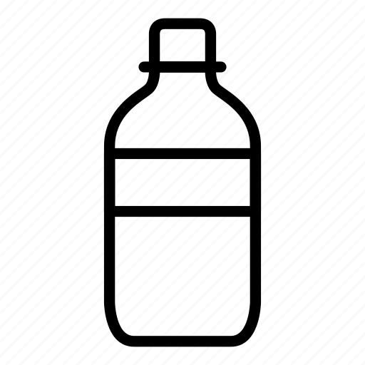 alcohol, bottle, glass, mineral water, wine icon