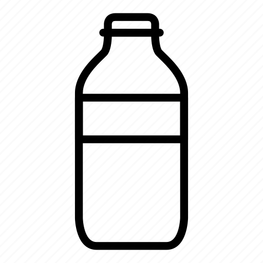 beverage, bottle, drink, glass icon