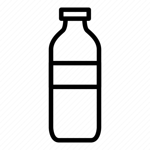 bottle, mineral water icon