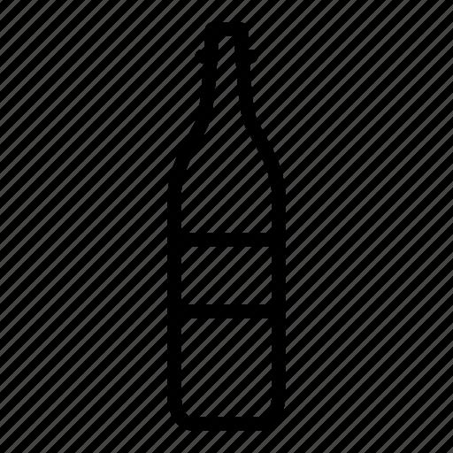 beer, bottle, drink, wine icon