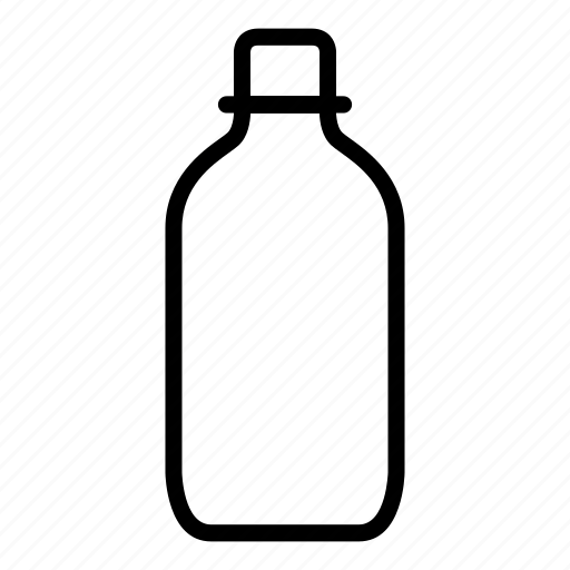 bottle, cup, drink, water icon
