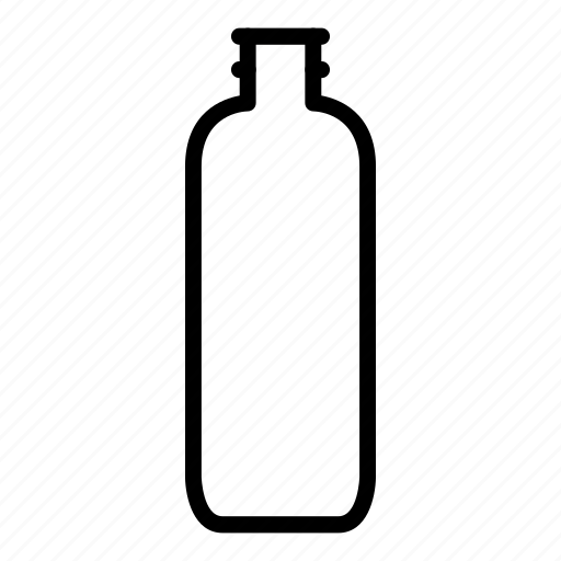 bottle, drink, glass, water icon