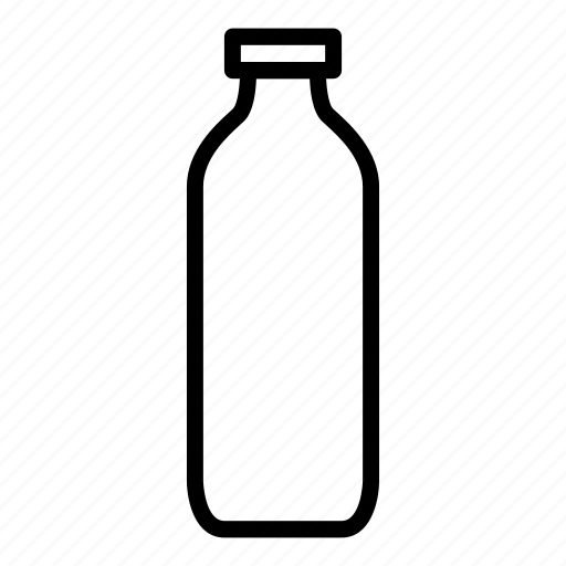 bottle, drink, glass, hot, water icon