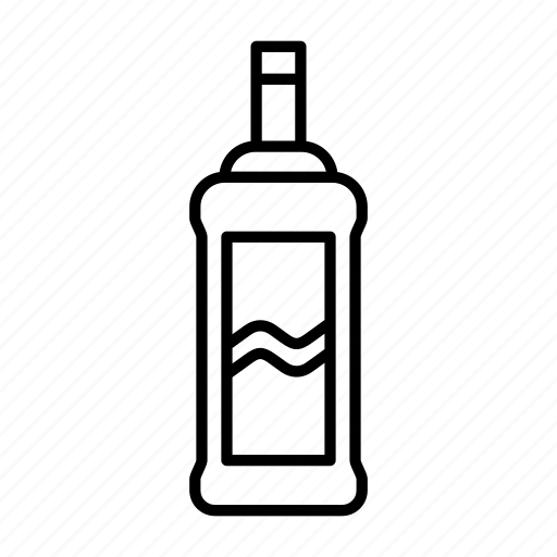 absinthe, alcohol, beverage, bottle, gin, tequila, vodka icon