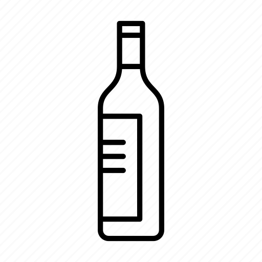 alcohol, beverage, bottle, food, port, vodka, wine icon