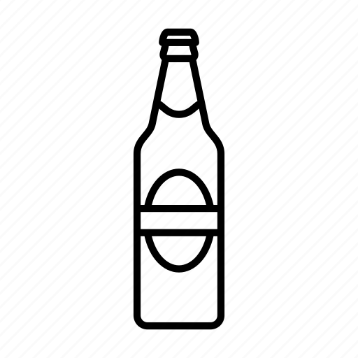 alcohol, beer, beverage, bottle, drink, soda, sparkling water icon