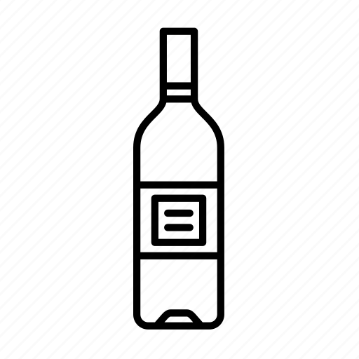 alcohol, bottle, champagne, cocktail, cognac, rum, wine icon