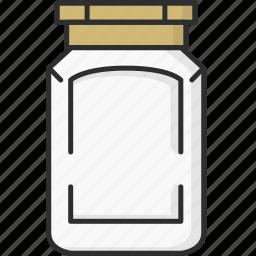 bottle, bottles, chilly powder bottle, spice, spice bottle icon