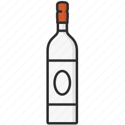 alcohol, beverage, bottle, bottles, drink, glass, wine icon