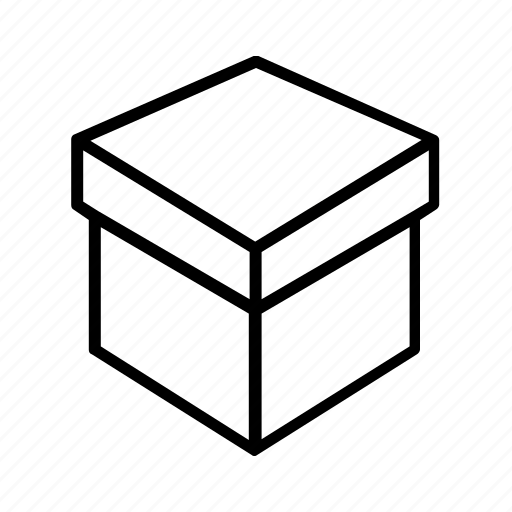 box, delivery, design, open, package, packaging icon