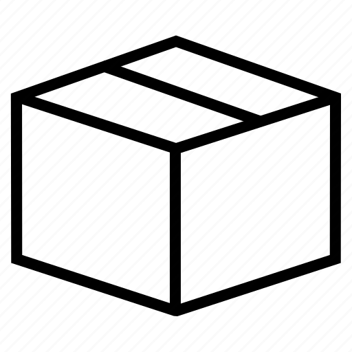 box, delivery, order, package, packing icon
