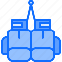 boxer, boxing, equipment, fighting, gloves, protection, sport icon