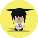 boy, school, character, cheerful, child, smile, cartoon