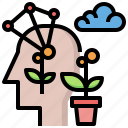 creativity, feelings, idea, industry, interface, strategy, think icon