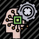 brain, ectronics, engineering, industry, omputer, roboticsel, technology icon
