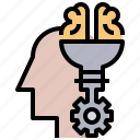 creativity, idea, industry, interface, strategy, think, thinking icon